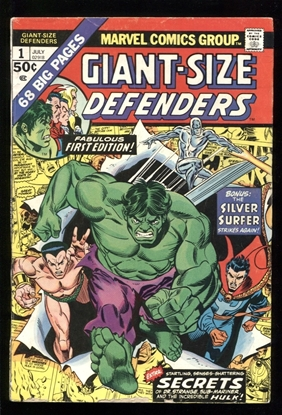 Picture of GIANT SIZE DEFENDERS (1975) #1 6.0 FN