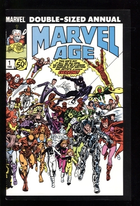 Picture of MARVEL AGE (1983) ANNUAL #1 9.0 VF/NM
