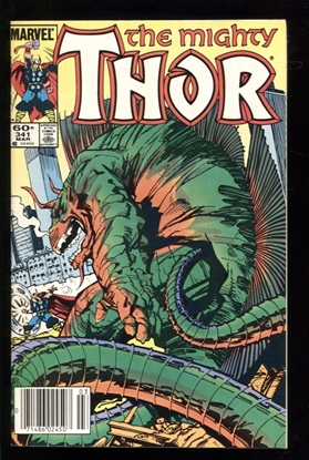 Picture of THOR (1968) #341 9.2 NM-