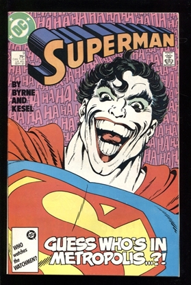 Picture of SUPERMAN (1988) #9 7.5 VF-