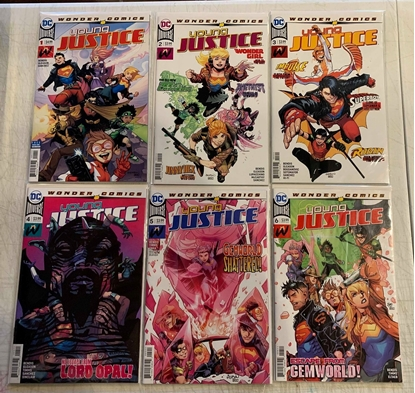 Picture of YOUNG JUSTICE (2019) #1-6 1ST PRINT SET NM