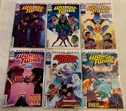 Picture of WONDER TWINS (2019) #1-6 SET NM