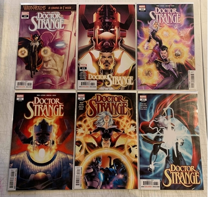 Picture of DOCTOR STRANGE (2018) #12-17 1ST PRINT SET NM