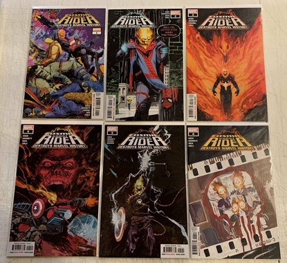 Picture of COSMIC GHOST RIDER DESTROYS MARVEL HISTORY #1-6 SET NM