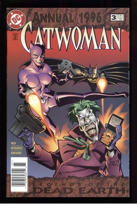 Picture of CATWOMAN (1993) ANNUAL #3 9.0 VF/NM