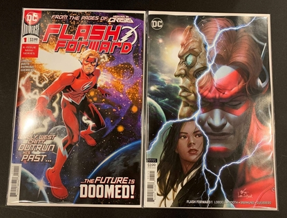 Picture of FLASH FORWARD #1 1ST PRINT & VARIANT COVER SET NM