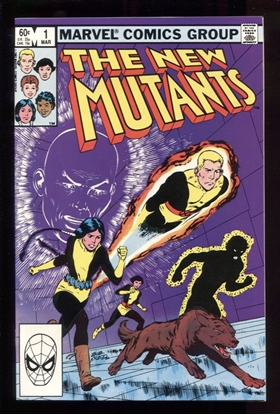 Picture of NEW MUTANTS (1983) #1 9.4 NM
