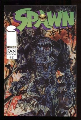 Picture of SPAWN (1996) FAN EDITION #2 9.6 NM+