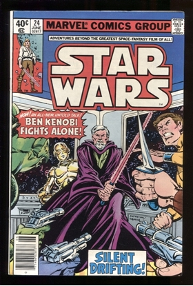Picture of STAR WARS (1977) #24 9.0 VF/NM