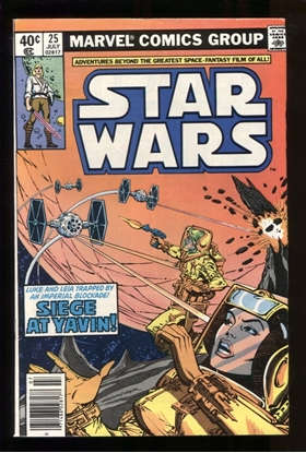 Picture of STAR WARS (1977) #25 8.0 VF