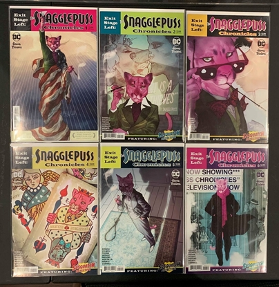 Picture of EXIT STAGE LEFT THE SNAGGLEPUSS CHRONICLES #1-6 SET NM