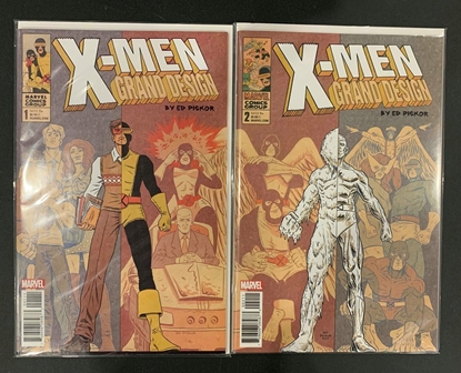 Picture of X-MEN GRAND DESIGN #1 & 2 1ST PRINT SET NM