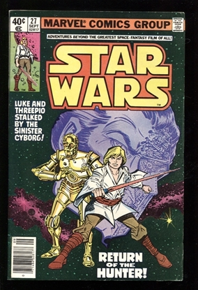 Picture of STAR WARS (1977) #27 7.5 VF-