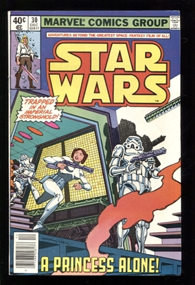 Picture of STAR WARS (1977) #30 9.0 VF/NM