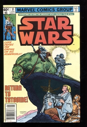 Picture of STAR WARS (1977) #31 8.5 VF+