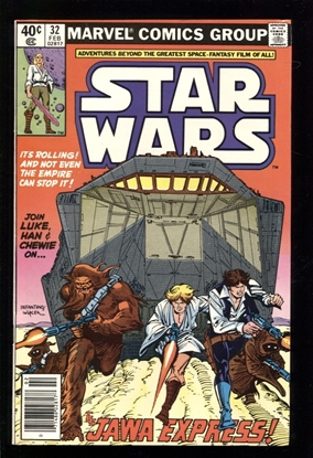 Picture of STAR WARS (1977) #32 9.0 VF/NM