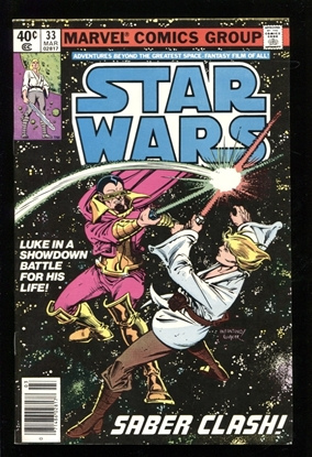 Picture of STAR WARS (1977) #33 9.2 NM-