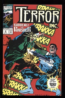 Picture of TERROR INC. (1992) #6 8.5 VF+