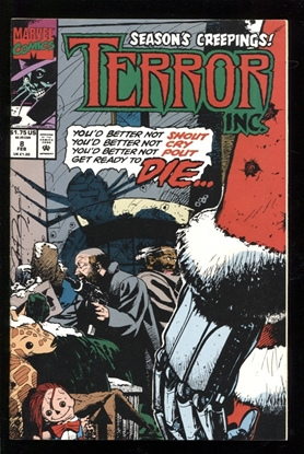 Picture of TERROR INC. (1992) #8 6.0 FN