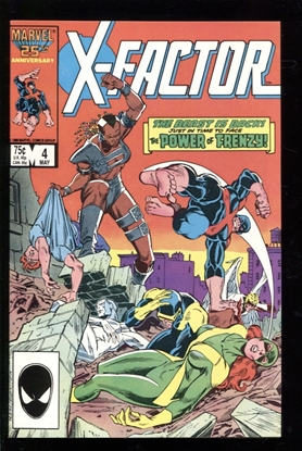 Picture of X-FACTOR (1986) #4 9.2 NM-