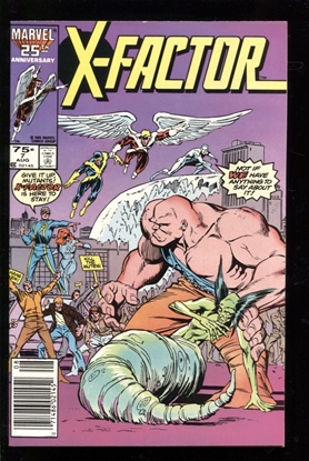 Picture of X-FACTOR (1986) #7 9.2 NM-