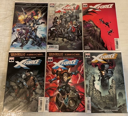 Picture of X-FORCE (2018) #1-6 1ST PRINT SET NM