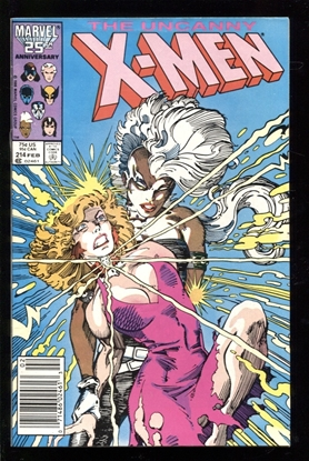 Picture of X-MEN (1963) #214 6.5 FN+ NEWSSTAND