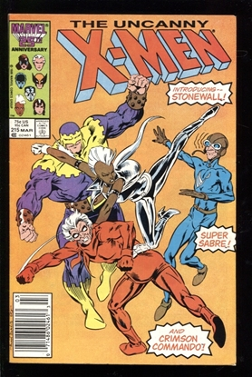 Picture of X-MEN (1963) #215 7.5 VF- NEWSSTAND