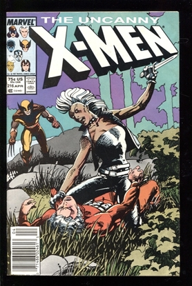 Picture of X-MEN (1963) #216 6.0 FN NEWSSTAND
