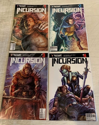 Picture of INCURSION #1-4 CVR A BRAITHWAITE SET NM