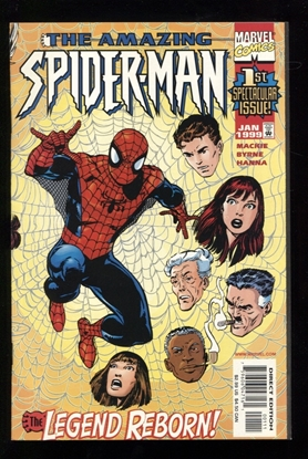 Picture of AMAZING SPIDER-MAN (1999) #1 9.4 NM