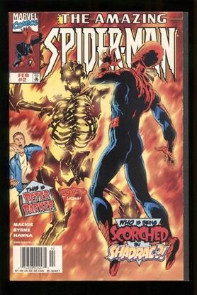 Picture of AMAZING SPIDER-MAN (1991) #2 9.2 NM-