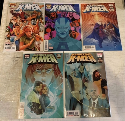 Picture of AGE OF X-MAN MARVELOUS X-MEN #1-5 1ST PRINT SET NM