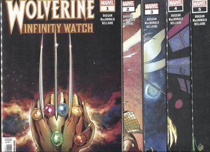 Picture of WOLVERINE INFINITY WATCH #1-5 SET