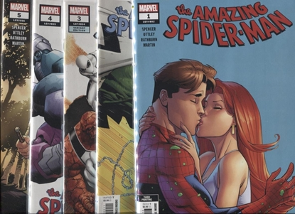 Picture of AMAZING SPIDER-MAN (2018) #1-5 MIX PRINTS