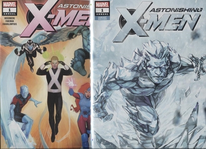 Picture of ASTONISHING X-MEN 2017 ANNUAL #1 2-COVER SET
