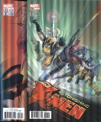 Picture of ASTONISHING X-MEN #7 & 8 LENTICULAR COVER SET
