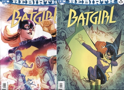 Picture of BATGIRL (REBIRTH) #1 1ST PRINT AND VARIANT COVER SET