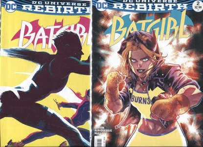 Picture of BATGIRL (REBIRTH) #2 REGULAR AND VARIANT COVER SET