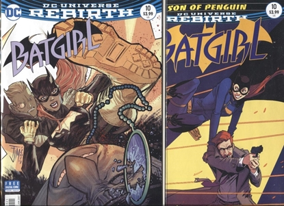 Picture of BATGIRL #10 (REBIRTH) #10 1ST PRINT AND VARIANT SET