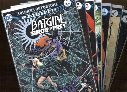 Picture of BATGIRL AND THE BIRDS OF PREY #7-13 SOURCE CODE
