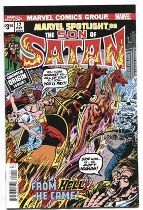 Picture of SON OF SATAN MARVEL SPOTLIGHT #12 FACSIMILE EDITION