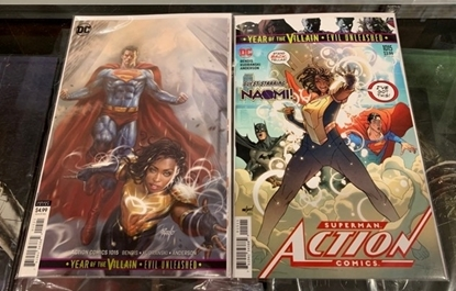 Picture of ACTION COMICS #1015 YOTV 1SR PRINT & VARIANT COVER SET NM