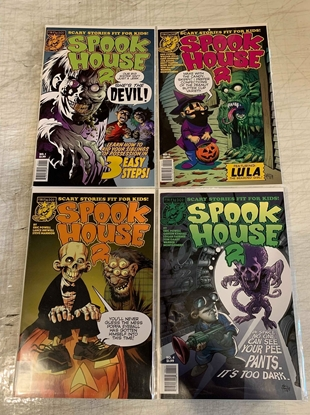 Picture of SPOOKHOUSE 2 (2018) #1-4 1ST PRINT SET NM