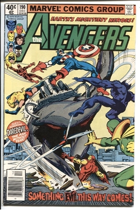 Picture of AVENGERS (1963) #190 7.5 VF-