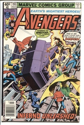 Picture of AVENGERS (1963) #193 6.0 FN