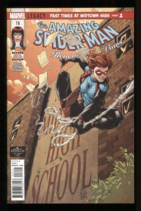 Picture of AMAZING SPIDER-MAN RENEW YOUR VOWS #16 LEG NM