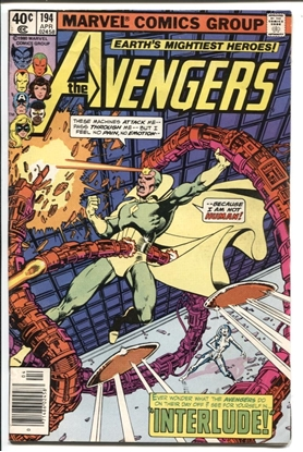 Picture of AVENGERS (1963) #194 5.5 FN-