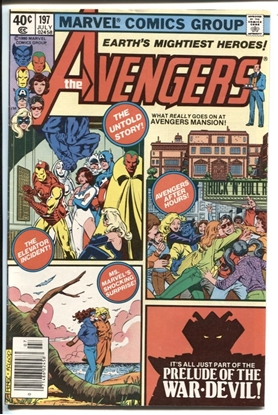 Picture of AVENGERS (1963) #197 7.0 FN/VF