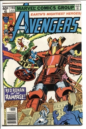 Picture of AVENGERS (1963) #198 6.0 FN